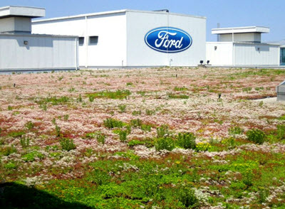 Ford Motor Company's plant in Dearborn, Michigan